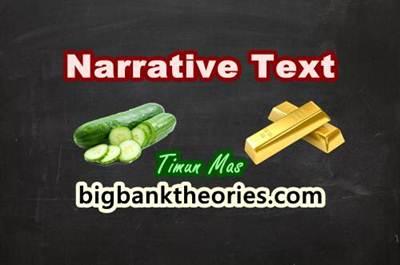 Contoh Narrative Text Tentang Timun Mas Dan Terjemahannya